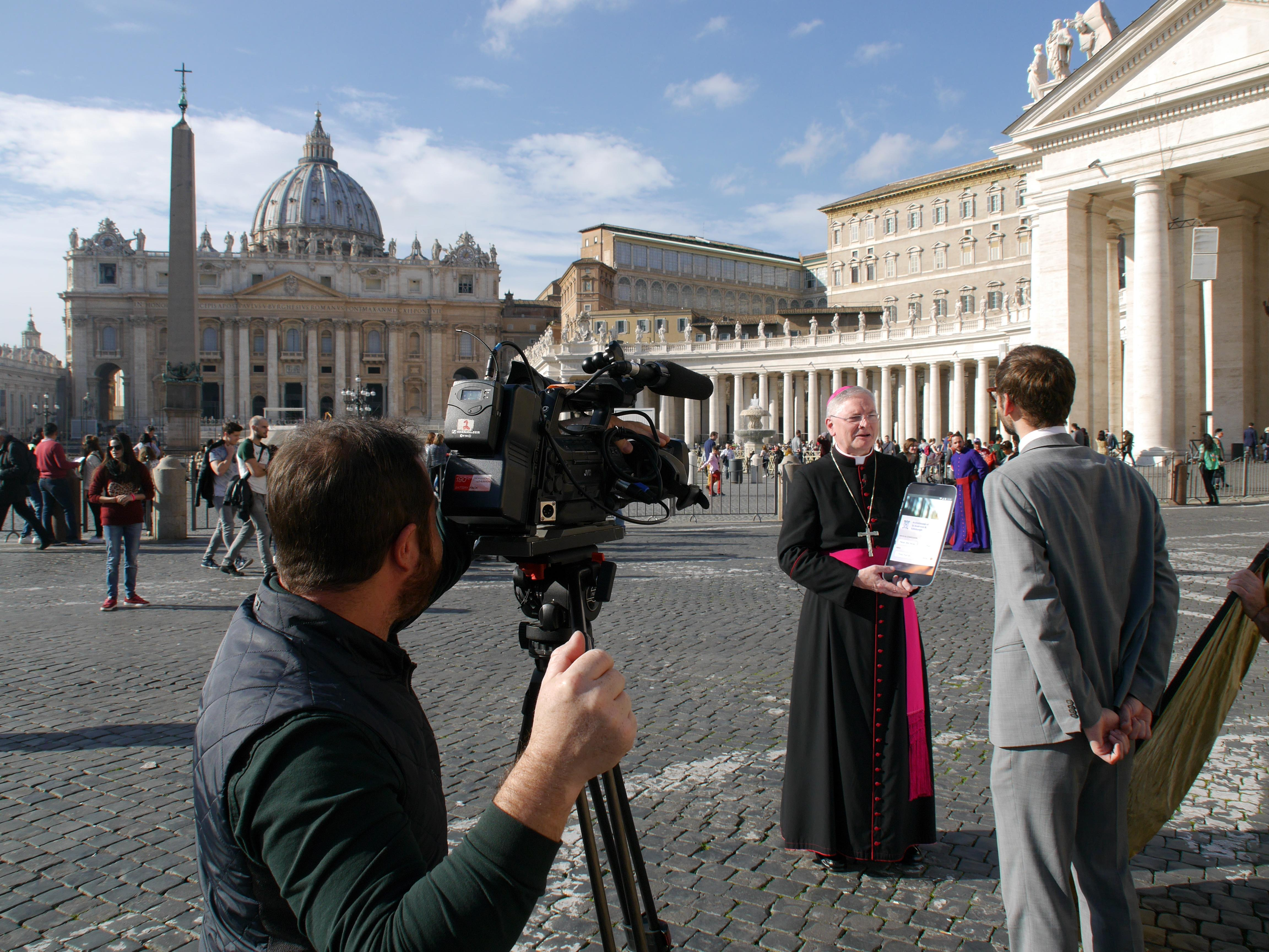 Header Image for: LAUNCH OF WORLD'S FIRST GPS MASS & CONFESSION FINDER APP